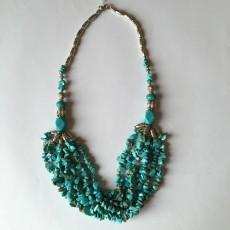 Collier Berbère Turquoise